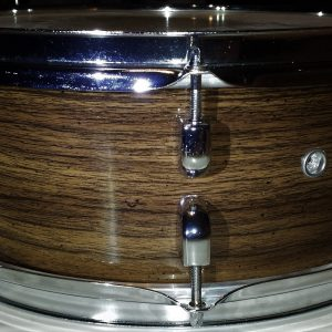 Rustic Laurel Wood Grain Drum Wrap