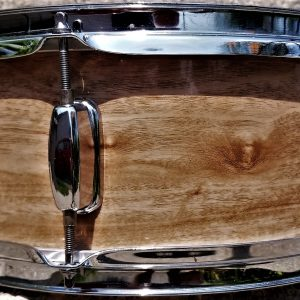 Tasmanian Cherry Wood Grain Drum Wrap