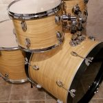 Rocky Mountain Maple Wood Grain Drum Wrap