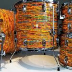 Psychedelic Cocktail Drum Wrap