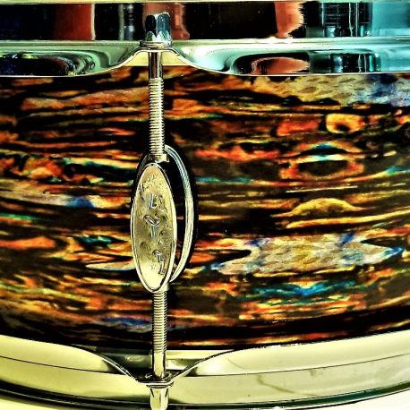 Dragon Oyster Pearl Drum Wrap