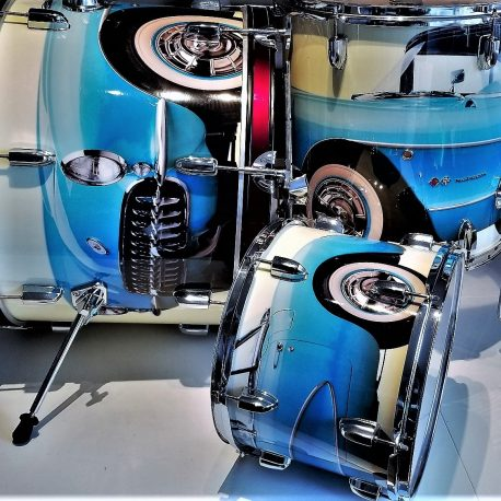 57 Roadster Drum Wrap