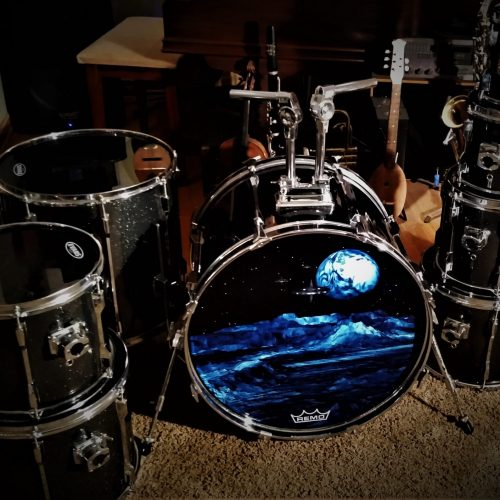 Midnight Sparkle Drum Wrap