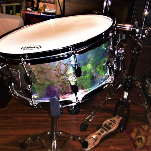 Alien Vomit Unique Drum Wrap