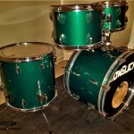 Rich Green Sparkle Drum Wrap