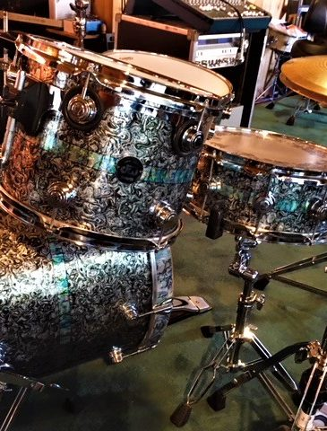 Pearl of Dreams Drum Wrap with added Inlay