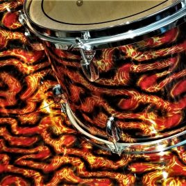 A. P. E. Series Typhoid Tentacle Drum Wrap